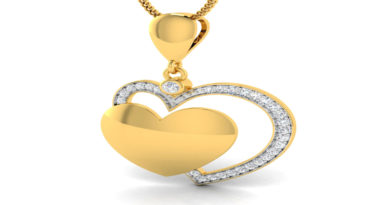 valentine-Twin-heart-pendan