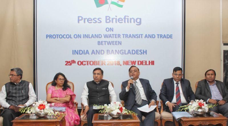 भारत और बांग्लादेश के बीच अंतर्देशीय और तटीय जलमार्ग संपर्क बढ़ाने के लिए समझौतों पर हस्ताक्षर
